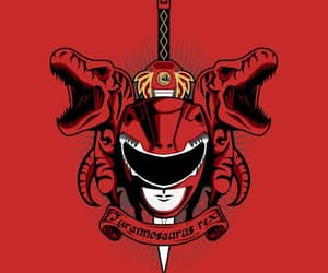 Logo, ranger, and red image