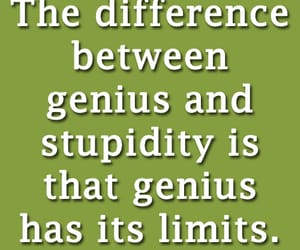 funny, quotes, and genius image