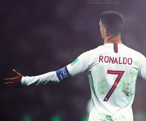 cristiano, football, and portugal image