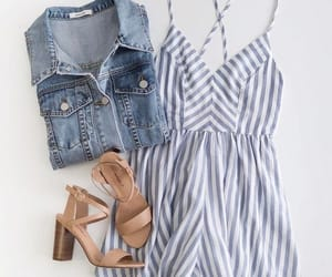 fashion, summer, and heels image