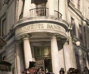 Bank, harry potter, and sorcier image
