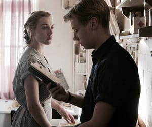 the reader, kate winslet, and david kross image