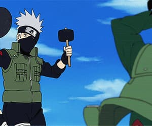 kakashi, lol, and naruto image