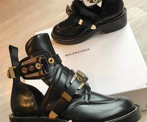 Balenciaga, boots, and shoes image