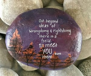 art, quotes, and stones image