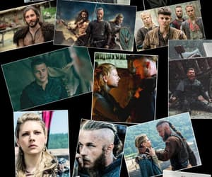 Collage, vikings, and rollo image