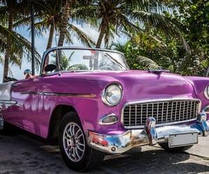 car, violet, and oldtimer image