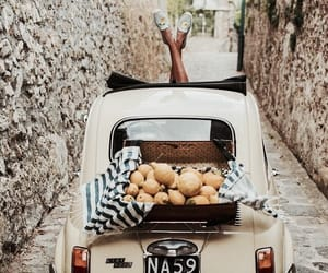 car, italy, and lemon image