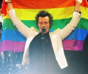 pride, lgbt, and Harry Styles image