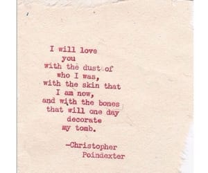 love, quotes, and christopher poindexter image