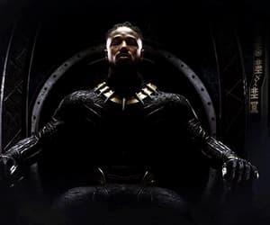 gif, erik killmonger, and black panther image