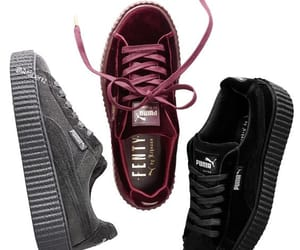 puma, fenty, and shoes image