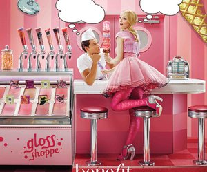 benefit, gloss, and pink image