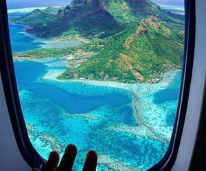 travel, beautiful, and blue image