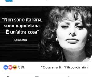 sofia loren, citazione, and napoli image