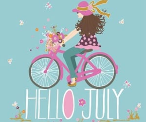 july and hello july image