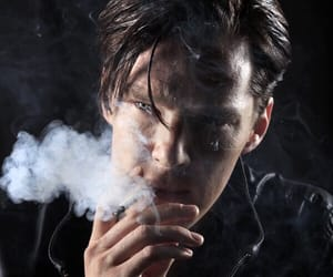 benedict cumberbatch, smoke, and benedict image