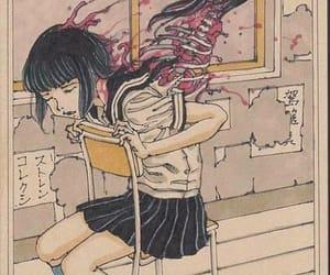 girl, sad, and tumblr image