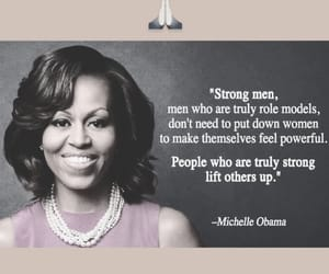 help, men, and michelle obama image
