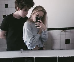 couple, cute couple, and Relationship image