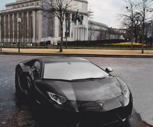 black, Lamborghini, and sportcar image