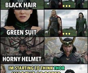 Avengers, loki, and Marvel image