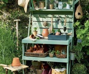 diy, organizador, and jardín image