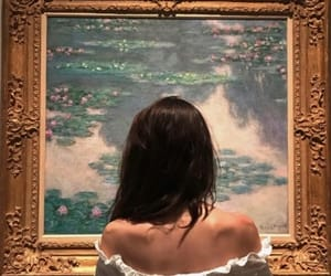 alternative, girl, and art museum image