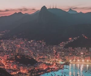city, rio, and brazil image