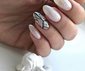 geometry, girl, and nails image