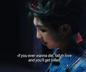 kpop, love quotes, and sad image