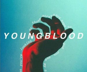 youngblood, 5sos, and Lyrics image