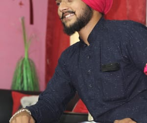 beard, fashion, and punjabi image