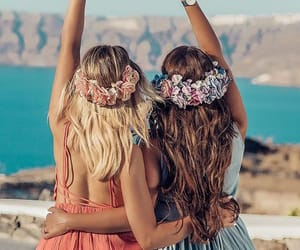 aesthetic, bff, and blonde image