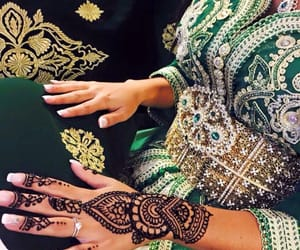 henna, beauty, and nails image