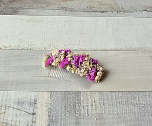 rustic wedding, bridal hair comb, and wedding hairpiece image