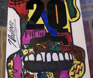 abstract, artist, and basquiat image