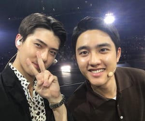 exo, sehun, and d.o image