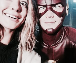 grant gustin, flash, and barry allen image