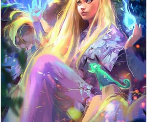 art, disney, and magic image