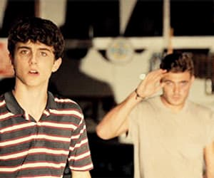 gif, timothee chalamet, and hot summer nights image