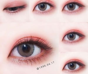korean, maquillage, and make up image