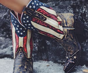 boots, i want, and cowboy boots image