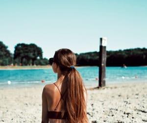 beach, blogger, and longhair image