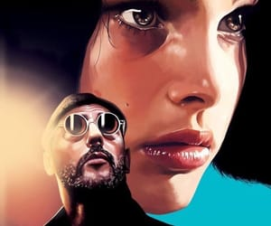 leon, film, and the professional image