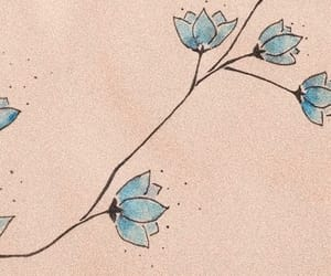 blue, headers, and kim taehyung image