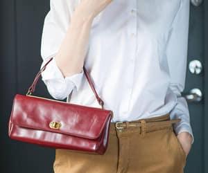 etsy, vegan leather bag, and formal wrist bag image
