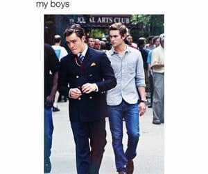 boys, Chace Crawford, and chuck bass image
