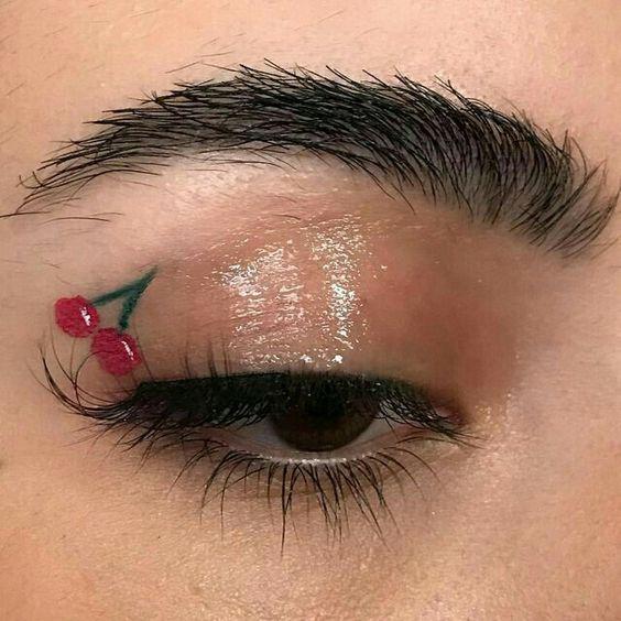 Beauty Makeup Cherry Cherries Eye