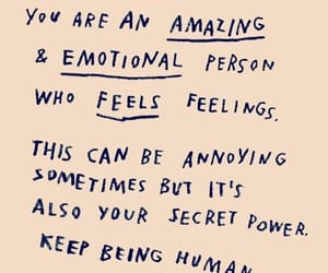 amazing, annoying, and feelings image
